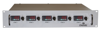 Customized Multiple Zone Rack Mount Temperature Controller